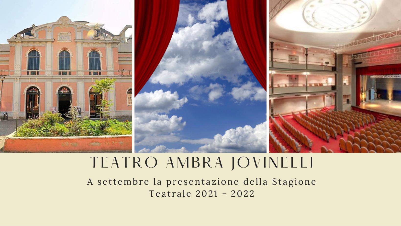 Riapre il Teatro Jovinelli per la prossima stagione teatrale