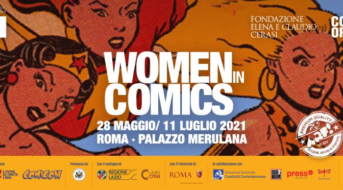 """28 maggio – 11 luglio 2021 """"Women in Comics"""" al Palazzo Merulana"""