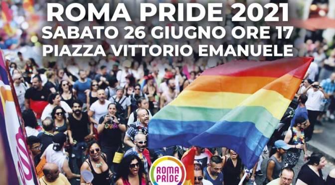 Roma Pride 2021 a Piazza Vittorio. Orari, limitazioni e/o deviazioni dei mezzi pubblici