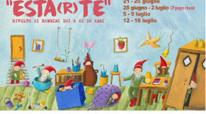 """Dal 21 giugno 2021 LABORATORI ESTIVI E CAMPUS """"ESTARTE"""" – Stap Brancaccio"""