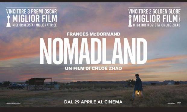 """30 luglio 2021 """"Nomaland"""" a Notti di Cinema a Piazza Vittorio"""