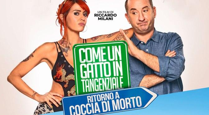 """14 e 15 agosto anteprima di """"Come un gatto in tangenziale – ritorno a Coccia di morto"""" a Notti di Cinema a Piazza Vittorio"""