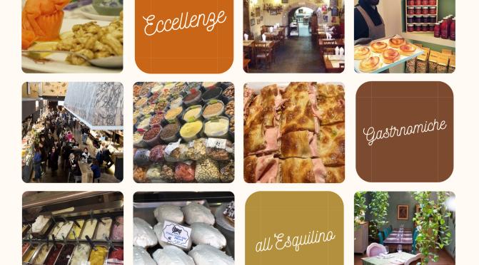 """Le eccellenze gastronomiche dell'Esquilino  suggerite da """"Puntarella Rossa"""""""