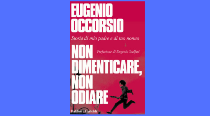 """7 agosto 2021 Presentazione del libro """"Non dimenicare, non odiare"""" a Piazza Vittorio"""