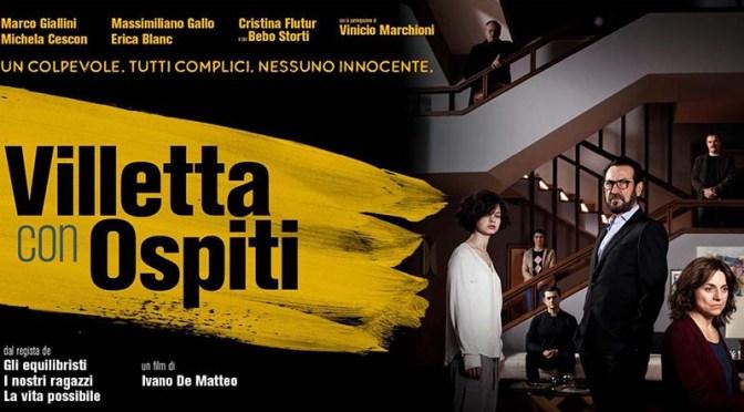 """27 agosto 2021 """"Villetta con ospiti"""" a Notti di Cinema a Piazza Vittorio"""