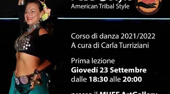 23/09/2021 Inizia il Corso di danza 2021/2022 di Carla Turriziani presso il MUEF ArtGallery