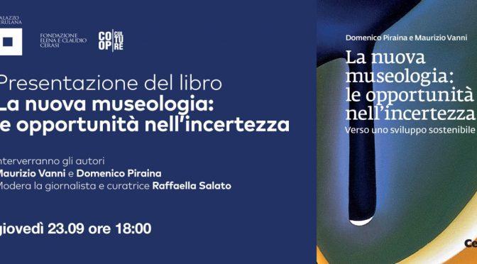 """23/09/2021 Presentazione del libro """"La nuova museologia"""" a Palazzo Merulana"""