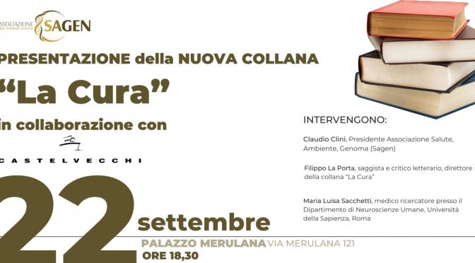 """22/09/2021 Presentazione della nuova collana """"La Cura"""" di Castelvecchi Editore a Palazzo Merulana"""