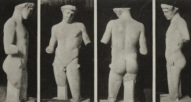 Una scoperta archeologica eccezionale avvenuta nel passato,  per caso, per le strade dell'Esquilino