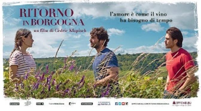 """11 settembre 2021 """"Ritorno in Borgogna"""" a Notti di Cinema a Piazza Vittorio"""