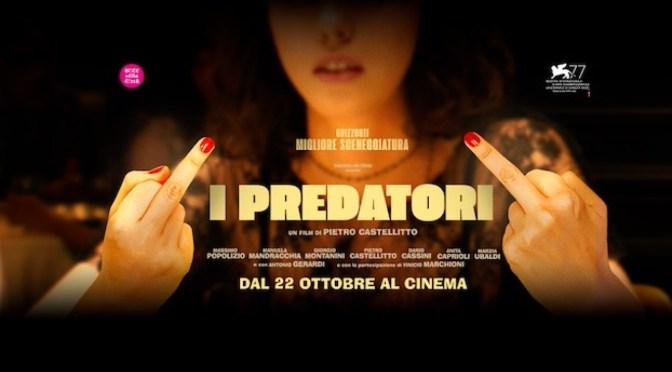 """10 settembre 2021 """"I predatori"""" a Notti di Cinema a Piazza Vittorio"""