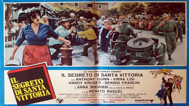 """7 settembre 2021 """"Il segreto di Santa Vittoria"""" a Notti di Cinema a Piazza Vittorio"""
