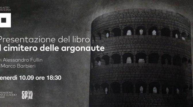 """10 settembre 2021 presentazione del libro """"Il cimitero delle Argonaute"""" a Palazzo Merulana"""