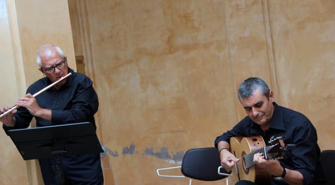 """1 ottobre 2021 Concerto del Duo """"LatinAmericando""""al Museo Nazionale degli Strumenti Musicali"""