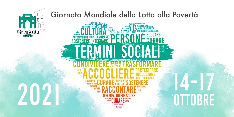 """14 – 17 ottobre 2021 """"Termini Sociali"""" alla Casa dell'Architettura"""
