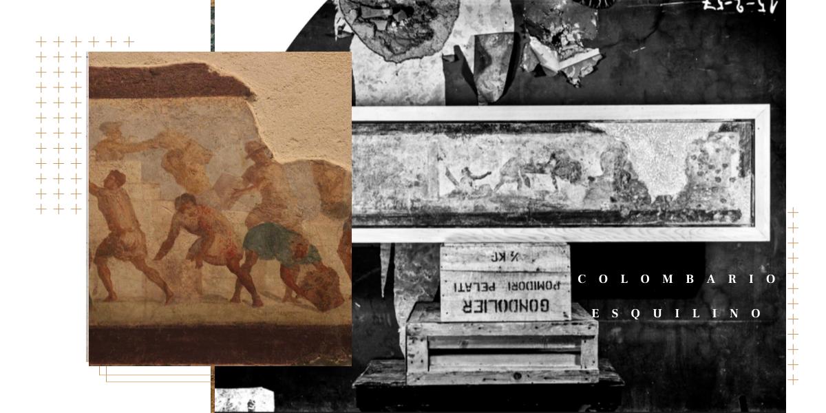 Museo Nazionale Romano: la cultura, nel passato, si è servita anche delle casse di pomodoro