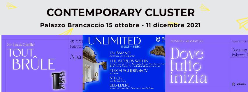 15 ottobre – 11 dicembre 2021 3 mostre al Contemporary Cluster