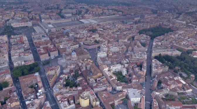"""ROMA ARCHEOLOGICA & RESTAURO ARCHITETTURA 2021. """"La Nuova Roma – Il Quartiere dell' Esquilino""""; in: IL MESSAGGERO (15/01/1932): 5; Foto: Il Quartiere dell' Esquilino; in: GOOGLE EARTH (2018). S.v., La Rep. (15/10/2021); SSABAPR (15/10/2021); AgCult (15/10/2021). NYT (12/01/2021) [Italiano & English]."""